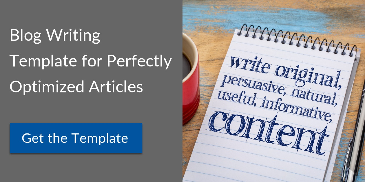 Get the Content Writing Template for Blogs and Marketing Campaigns