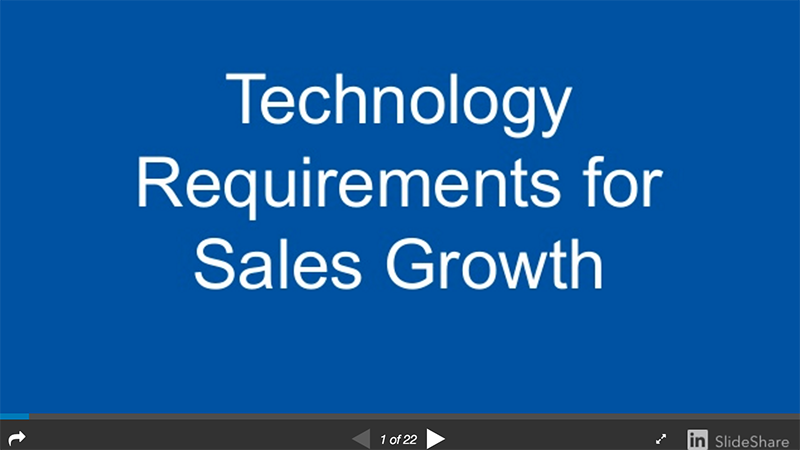 Read: Technology That Directly Impacts Your Sales Growth